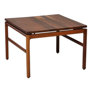 Mid-Century Modern Gunlocke Walnut Side Table, 1960s For Sale