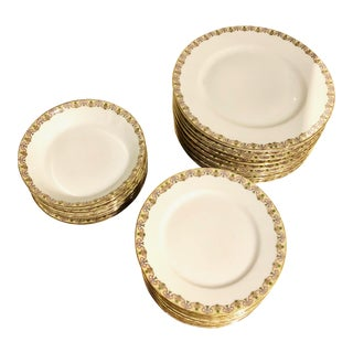 WM Guerin Limoges China Set - 32 Pieces