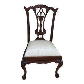 Maitland Smith Chippendale Chair For Sale