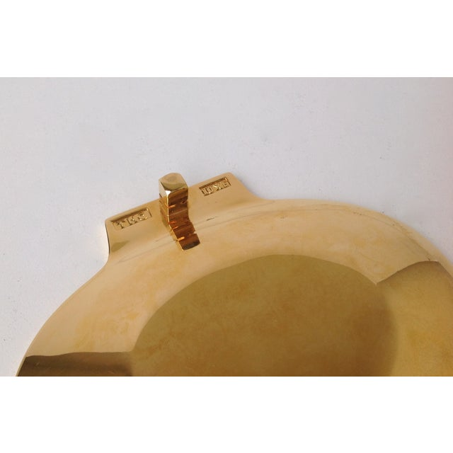 Gold Plated Fanned Shell-Shape Ring Dish - Image 10 of 11