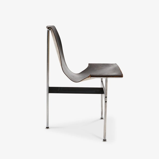 Designed by William Katavolos in 1952 as part of the 'New Furniture' collection for Laverne. Often referred to as the 'T'...
