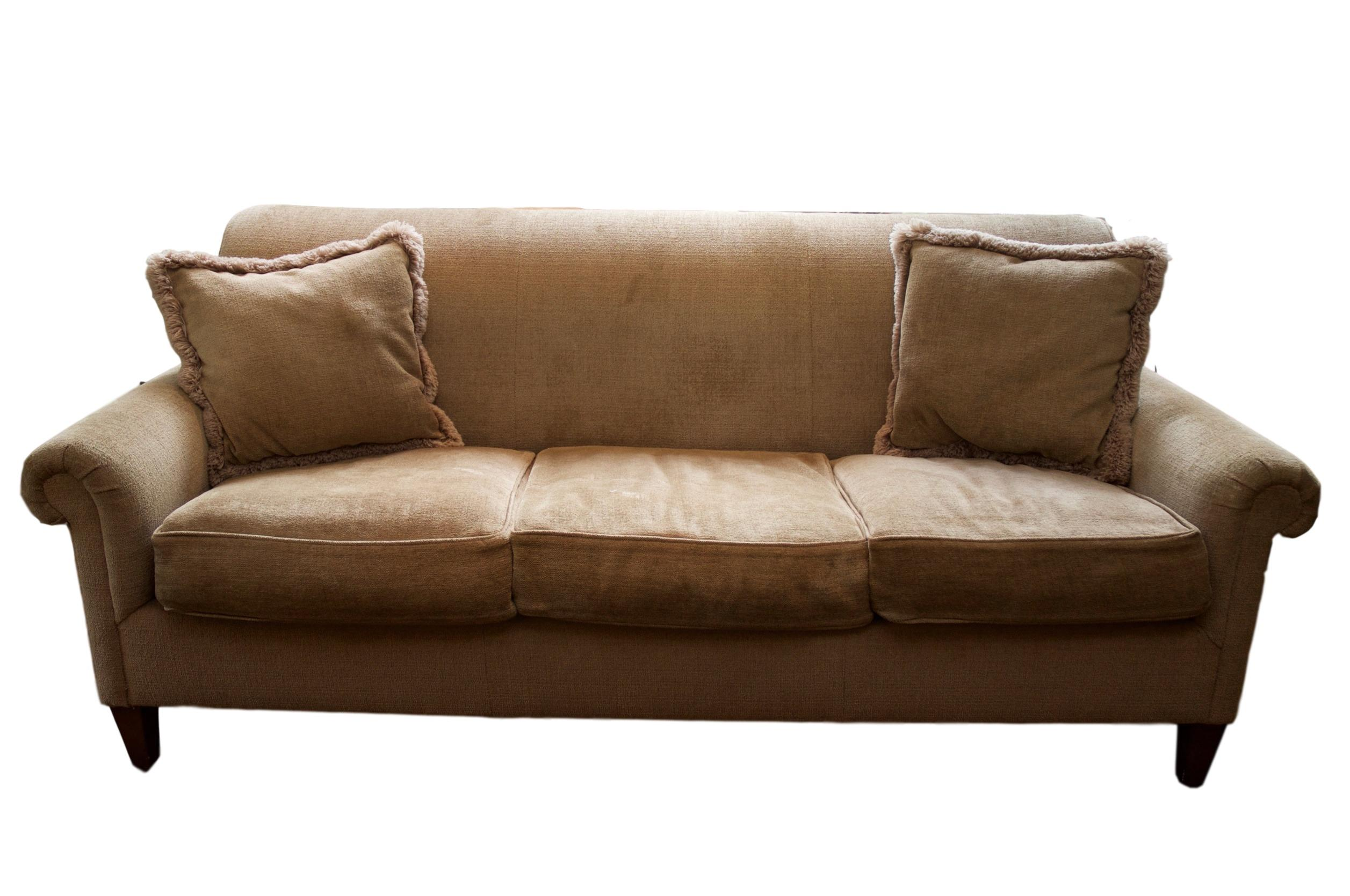 Lawson Arm Chenille Tight Back Sofa