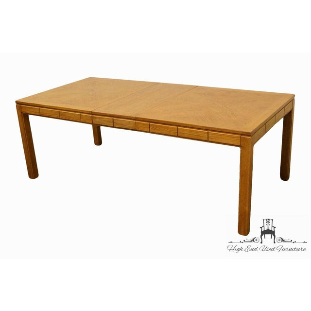 "THOMASVILLE FURNITURE New Country Collection 84"" Dining Table 40921-751 29.75"" High 68"" Wide 40"" Deep Leaf: 16"" Wide We..."