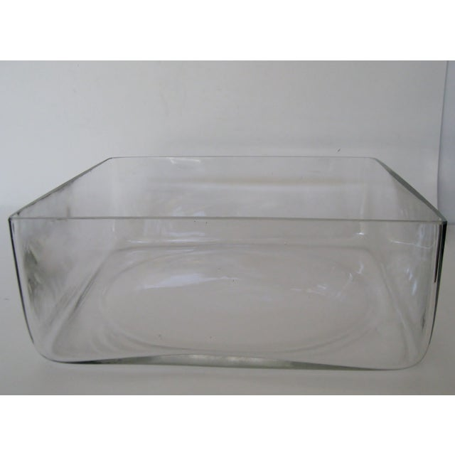 Industrial-Style Blown Glass Bowl For Sale - Image 4 of 5
