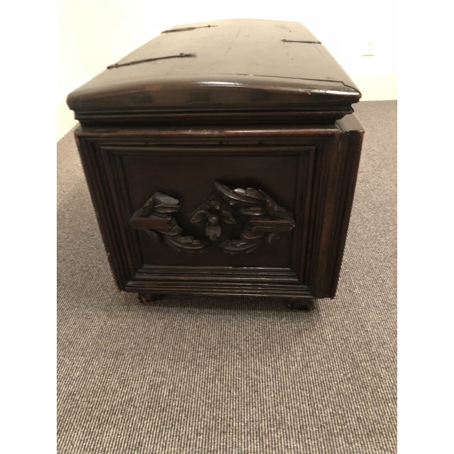 Antique Italian Mahogany Chest For Sale In Atlanta - Image 6 of 13