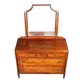 Stiehl Furniture Art Deco Vanity Dresser For Sale
