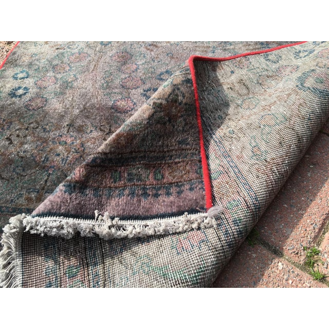 Overdyed Turkish Runner Rug - 2′8″ × 12′8″ - Image 8 of 9