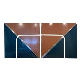 Mid-Century Modern Wall Art - 4 Piece Set For Sale