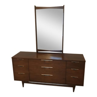 Kent Coffey Tableau Dresser With Mirror