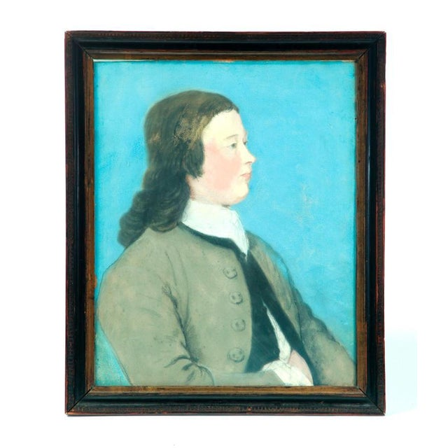 Circa 1790 Portrait of a Young Man - Image 2 of 5