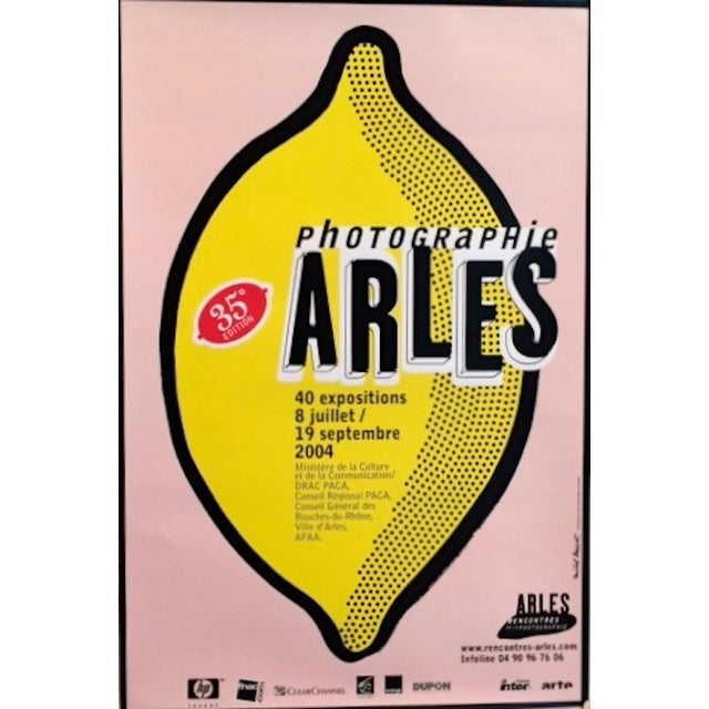 This is a poster that was created for the Rencontres Arles Photography festival in 2010. Michel Bouvet has been behind the...
