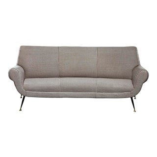 Italian Mid Century Sofa or Settee by Gigi Radice for Minotti For Sale