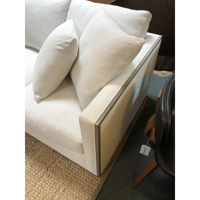 Rene Cazares Furniture Woody Upholstered Sofa For Sale - Image 9 of 13