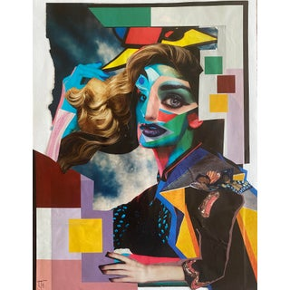 """""""Pieces of Her"""" Surreal Collage by Lee Ten Hoeve For Sale"""