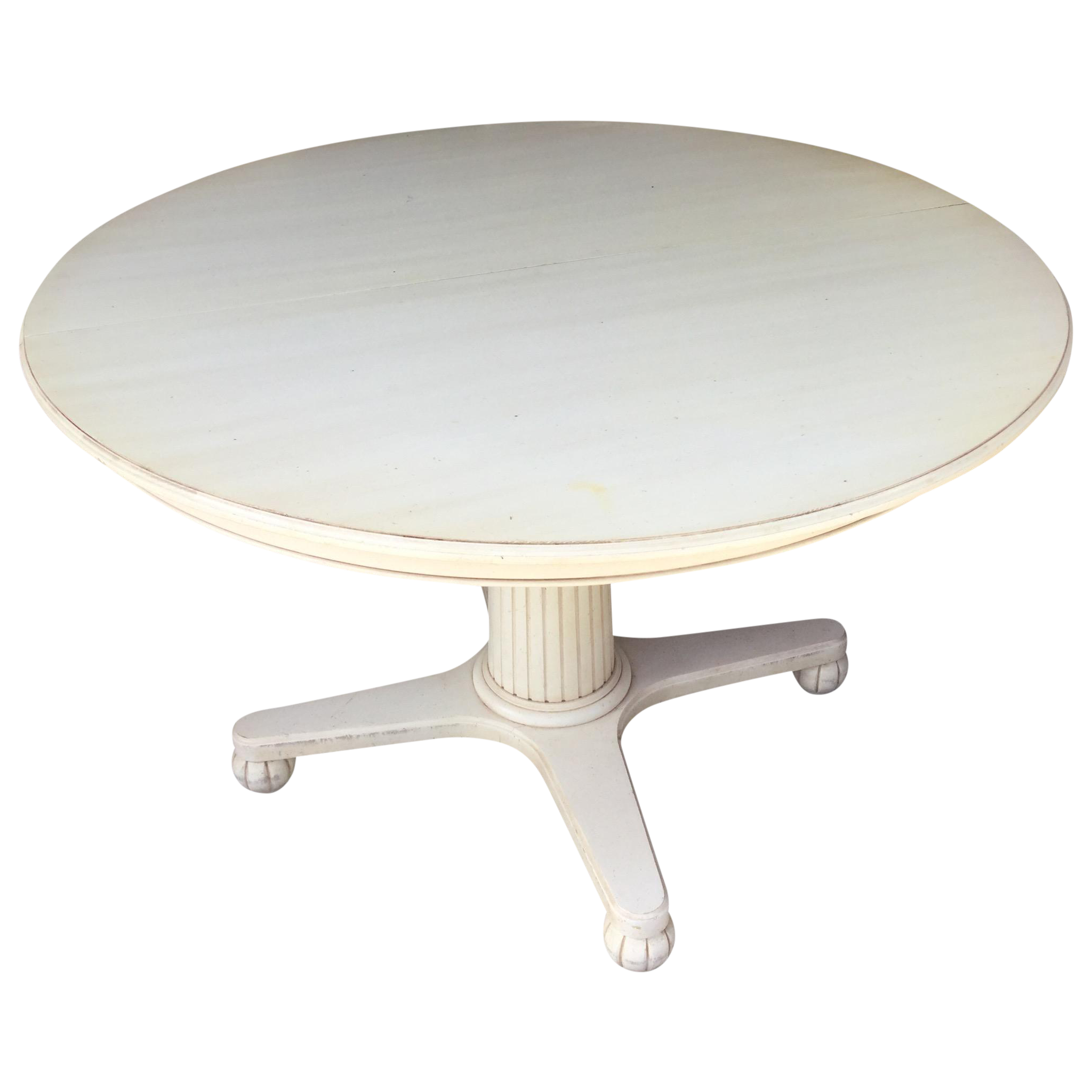 Delicieux Ethan Allen Swedish Home Pedestal Dining Table