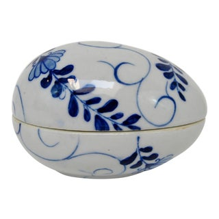 Porcelain Egg Container For Sale
