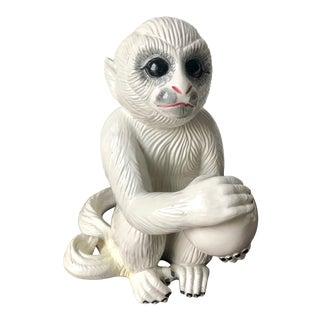 Mottahedeh Italian Faience Capuchin Monkey For Sale