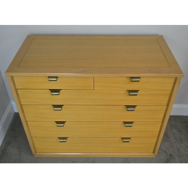 1950s Edward Wormley for Drexel Precedent Pair Mid Century Modern Chests For Sale - Image 5 of 13