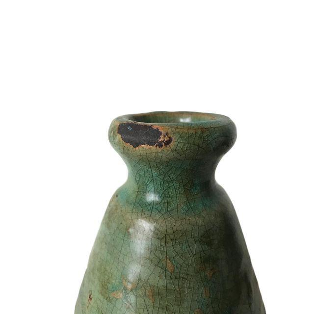 Rustic Sage Green Vase - Image 2 of 4