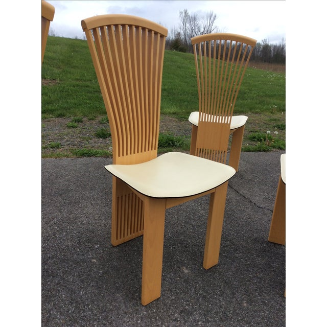 Pietro Costantini Maple Dining Chairs - Set of 6 - Image 6 of 11