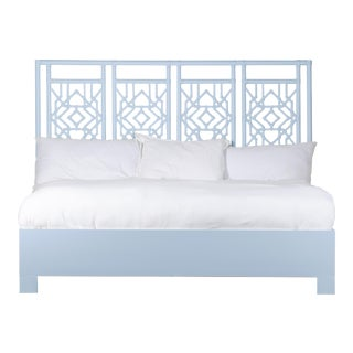 Tulum Bed King - Blue For Sale