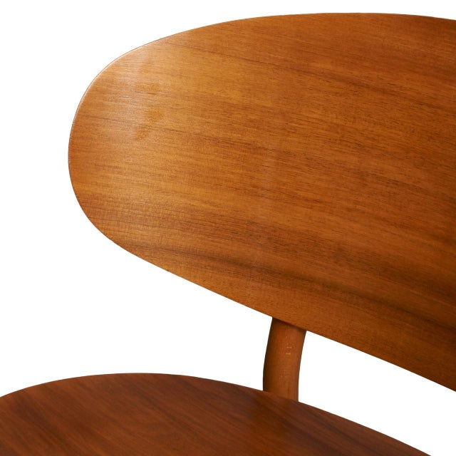 1940s Hans Wegner Shell Lounge Chairs For Sale - Image 5 of 8