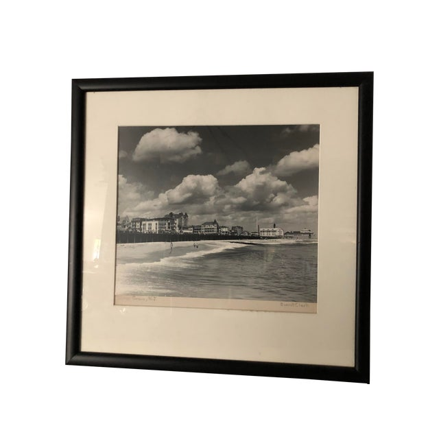 Vintage Black and White Photograph of Ocean Grove, New Jersey For Sale
