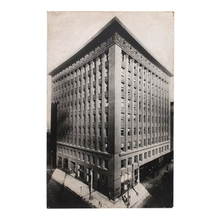 1930s Format Moma Exhibited Photograph of Louis Sullivan's Wainwright Building For Sale