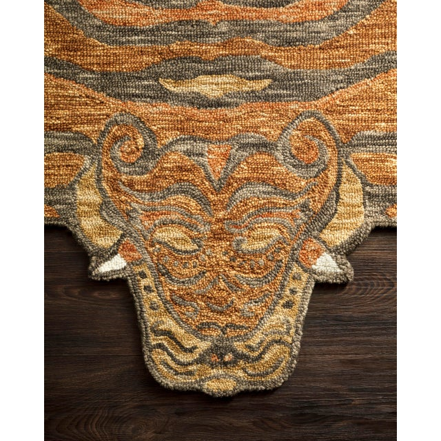 Decorate wild with the Feroz Collection, designed by Justina Blakeney for Loloi Rugs . Hooked of 100% wool pile by...