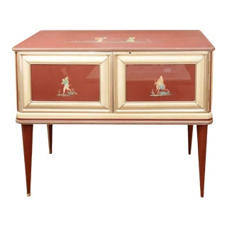 Modernist Chinoiserie Sideboard by Umberto Mascagni For Sale