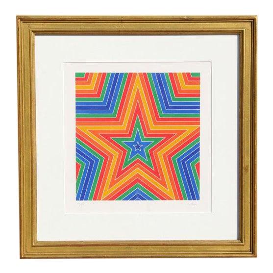1970 Arthur Boden Star Print For Sale
