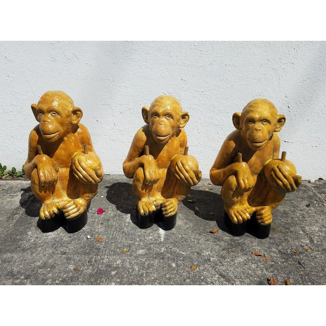 1970s Vintage Italian Monkey Glass Coffee Table For Sale - Image 9 of 11