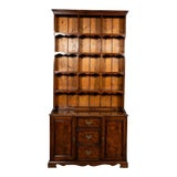 Image of 19th Century English Walnut and Pine Collectors Cupboard For Sale