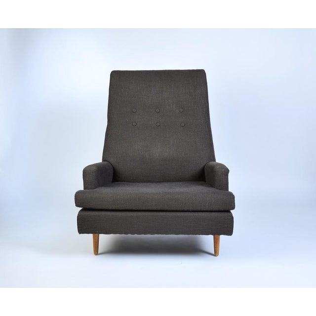 Contemporary Vintage Adrian Pearsall High Back Lounge Chair For Sale - Image 3 of 10