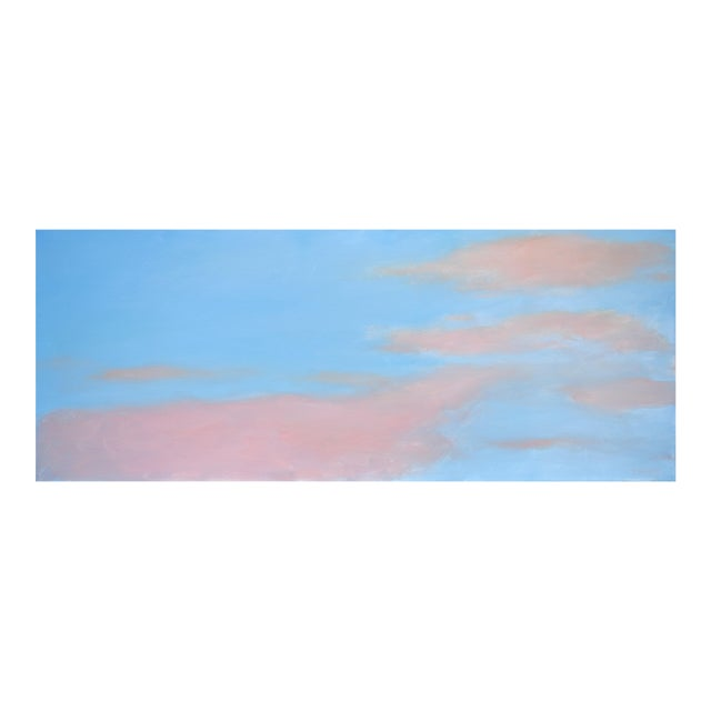 """Stephen Remick """"Morning Clouds"""" Contemporary Painting For Sale"""
