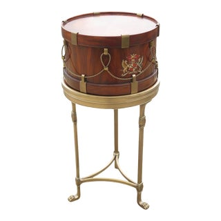 Theodore Alexander Althorp Collection Model #11089 Drum Table For Sale