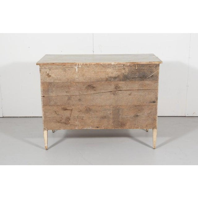 Swedish Gustavian Style Painted Commode For Sale - Image 9 of 9