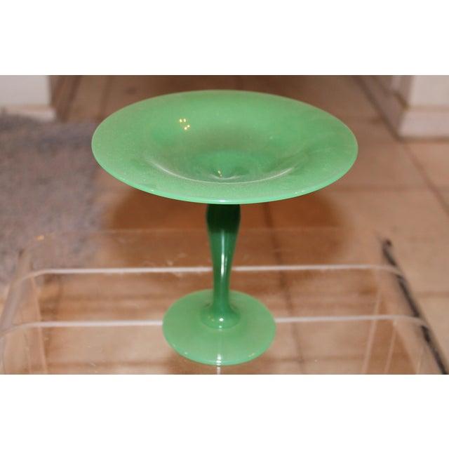 Steuben Jade Glass Tazza Vase, 1930's - Image 2 of 7