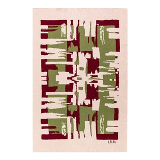 Maison Leleu - Totem Mutlicolor Cashmere Blanket, 51' X 71' For Sale