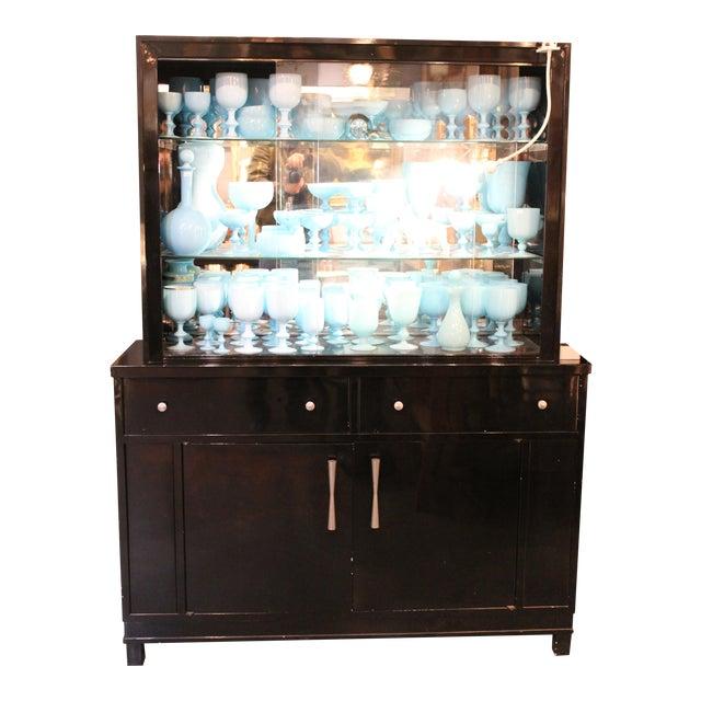 Okamura Mid-century Japanese Metal Cabinet For Sale