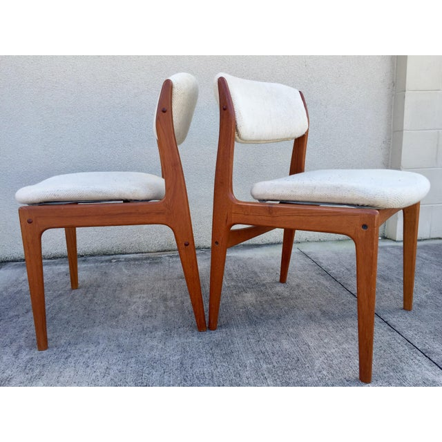 Mid-Century Benny Linden Dining Chairs - 6 For Sale In Tampa - Image 6 of 10