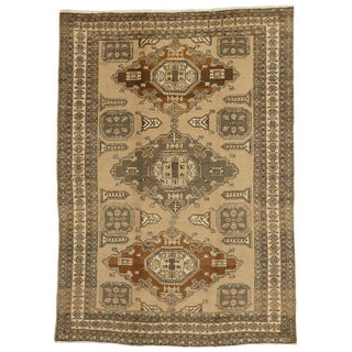 20th Century Persian Ardabil Rug - 7′ × 10′ For Sale