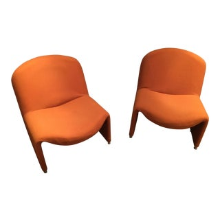 1970s Vintage Giancarlo Piretti 'Alky' Chairs - A Pair For Sale