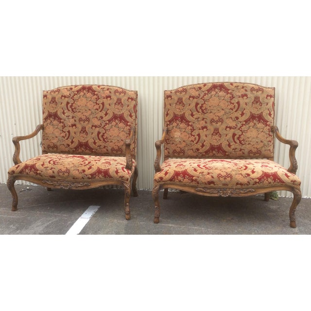 Italian Tuscan Style Settees - a Pair For Sale - Image 3 of 13