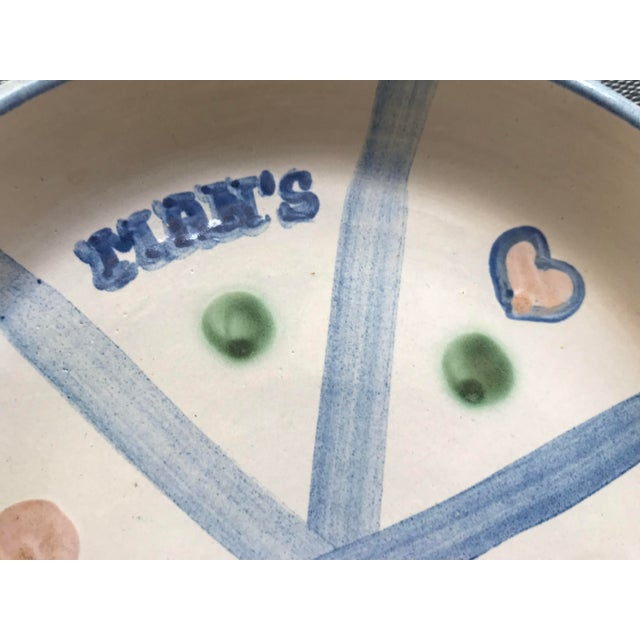 "Stoneware Pie Plate - ""The Way to a Man's Heart"" For Sale - Image 4 of 9"
