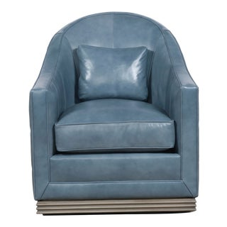 Vanguard Furniture Syms Swivel Chair For Sale