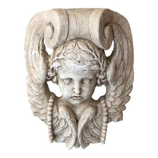 Vintage Belgian Plaster Frieze For Sale