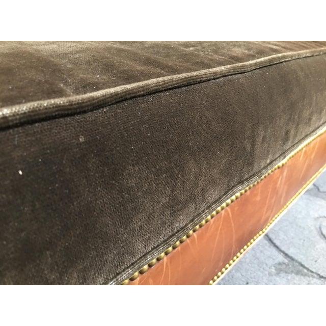 Ralph Lauren Brompton Leather Sofa - Image 8 of 9