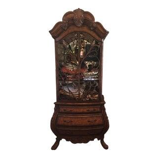 Ambella Bristol Bombe Curio Cabinet For Sale