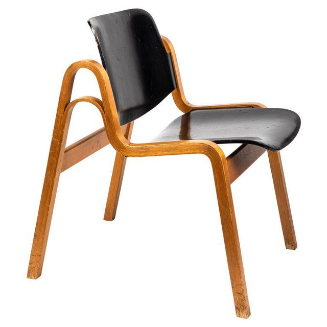 1950s Vintage Ilmari Tapiovaara 'Wilhelmina' Chair For Sale - Image 10 of 10